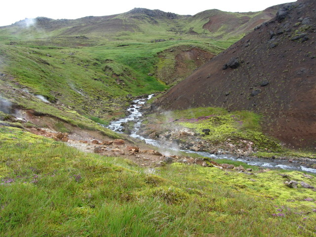 Iceland - Smoking Valley